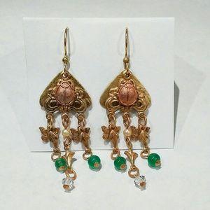 Boho Pierced Drop Earrings